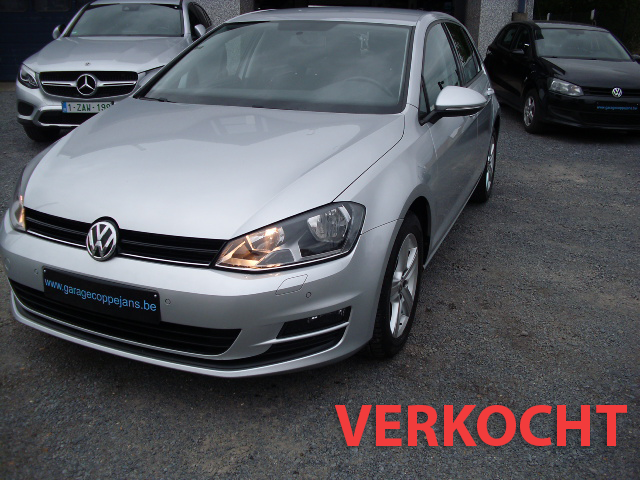 VW Golf VII 12 tsi trendline 12/2014 VERKOCHT